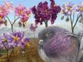Aardappel bloem duifje
