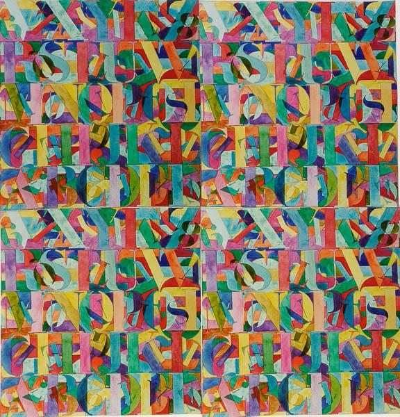 Letters: groot en klein, dessin nr. 37