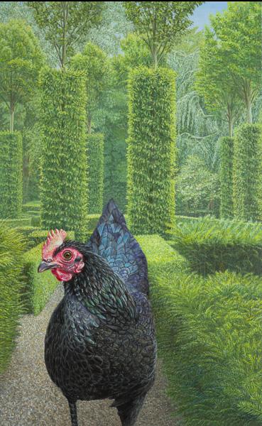 Kunst van dina belga schilderijen van dina belga - Groen behang van het water ...