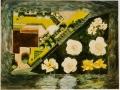 Tuinontwerp , driehoek Klaas Noordhuis