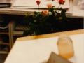 Atelier, rozen schilderen