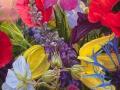 Bloeiende kleuren