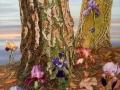 Iris herfst